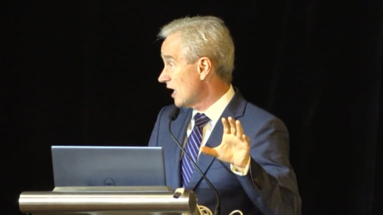 Cardiologist Peter McCullough Delivers Powerful Speech on Under-tested Novel Therapies